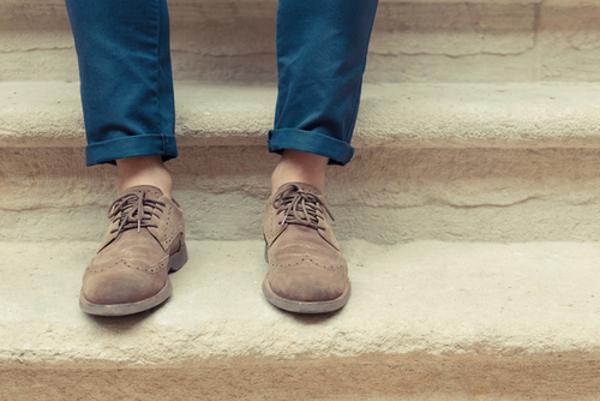チノパン 靴