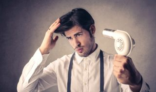 寝癖直しは寝る前がポイント!男の髪は根元に注目!-1